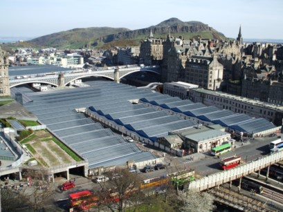 Edinburgh Waverley Station will benefit from increased capacity