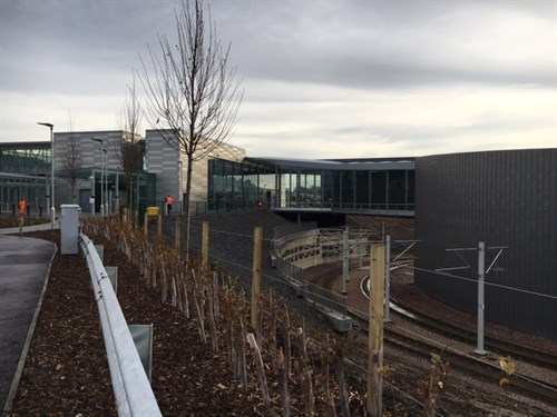 Edinburgh Gateway Ready for opening 1